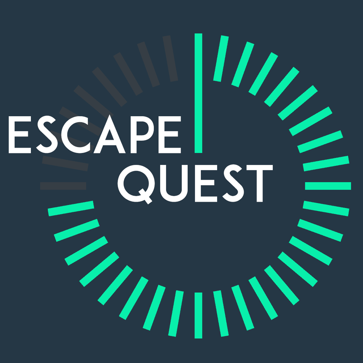 LOGO ESCAPE QUEST BLEU